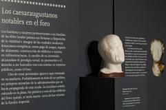 Discurso museográfico del Museo del Foro Romano. Fuente: Ayuntamiento de Zaragoza.